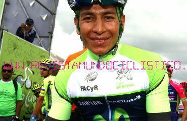 Dayer Quintana, el mejor de los 'escarabajos' en Tour del Alto Var