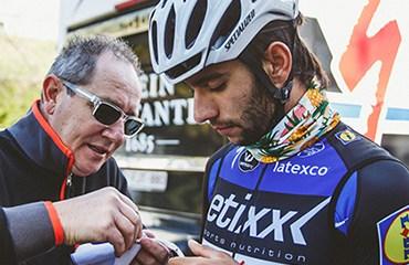Fernando Gaviria, décimo en la Dwars door Vlaanderen de Bélgica (© BrakeThrough Media)