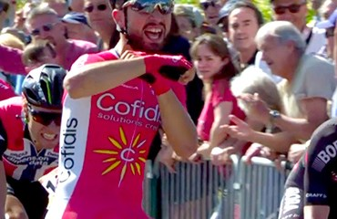 Bouhanni se impuso en la primera etapa de la Dauphiné