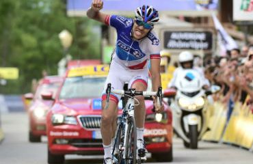 Thibaut Pinot ganador de etapa reina del Critérium Dauphiné