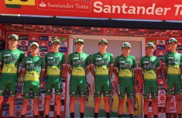 El Boyacá Raza de Campeones sigue siendo gran protagonista en la Vuelta a Portugal