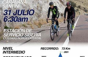 El Domingo 31 de Julio se llevará a cabo la 2a edición de la Caravana 14 Ochomiles-Santini