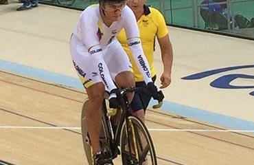 Fabián Puerta disputará este sábado las finales de la Velocidad en los JJOO Río de Janeiro 2016