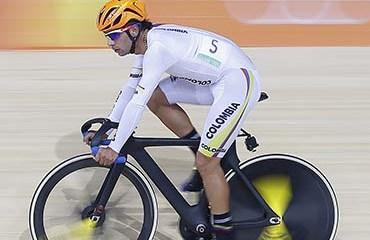 Fernando Gaviria terminó muy cerca del podio olímpico del Omnium