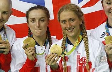 Gran Bretaña sumó su tercera medalla de oro y confirmó su absoluta supremacía en la Persecución Equipos 4X4000