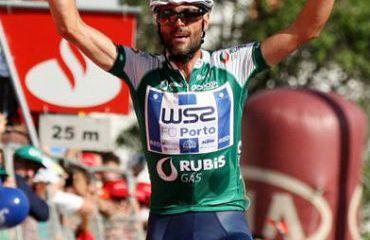 Gustavo Veloso fue el vencedor de la sexta etapa de la Vuelta a Portugal