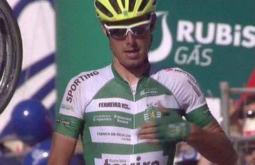 Jesús Ezquerra vencedor de octava etapa de Vuelta a Portugal