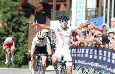 John Anderson Rodríguez ganador de quinta etapa