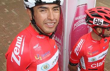 Miguel Rubiano, tercero en la etapa de este domingo