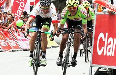 Sevilla le ganó un cerrado duelo por la etapa a Alex Cano y ya es líder del Duelo de Titanes 2016