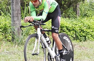 Gaviria se impuso en la CRI que marcó la quinta etapa de la Vuelta de la Juventud
