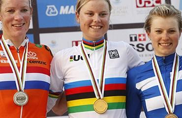 La elite femenina dejó la victoria de la danesa Amalie Dideriksen