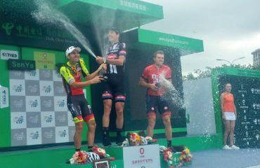 Max Walscheid obtuvo este viernes su cuarta victoria de eatapa de Tour de Hainan