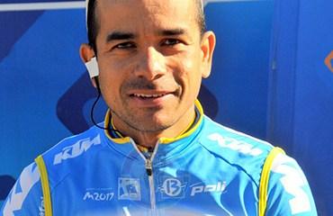 Leonardo Duque se despidió a lo grande del ciclismo internacional tras imponerse en la prueba china