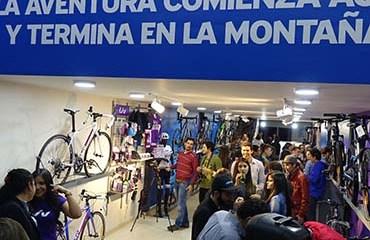 GIANT inauguró su primera Tienda Concepto en Bogotá el pasado Jueves 17 de Noviembre