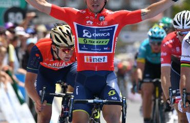 Caleb Ewan vencedor de tercera etapa del Tour Down Under
