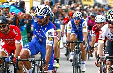 Fernando Gaviria ganador de etapa y líder de Vuelta al Algarve
