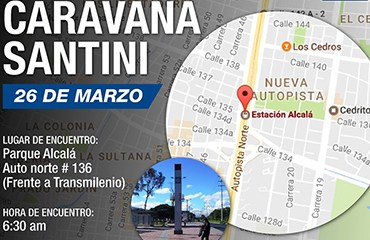 Este Domingo 26 de Marzo 3a Caravana 14 OCHOMILES-SANTINI