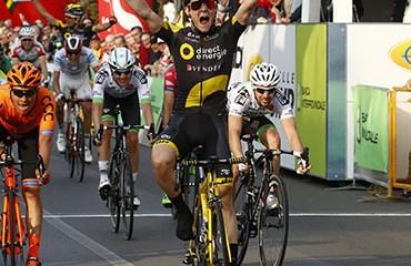 Boudat ganó la 3a etapa de la Settimana Coppi-Bartali