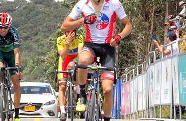 Cristian Muñoz ganó la sexta etapa de la Vuelta de la Juventud en PM (1a) d