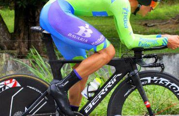 Eduardo Estrada ganador de la CRI de la Vuelta de la Juventud