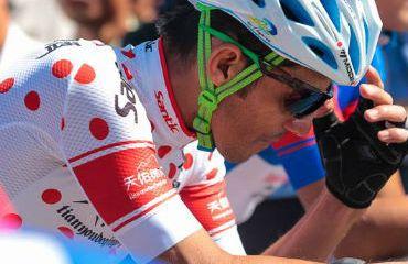 Francisco Colorado, uno de los colombianos que hizo parte del Tour de Tailandia