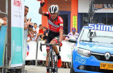 Germán Chaves ganador de etapa de Vuelta de la Juventud