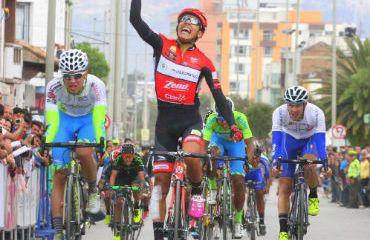 Julian-Molano ganador de etapa