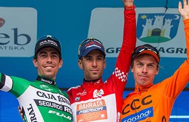 """""""El Tiburón"""" Nibali se coronó campeón del Tour de Croacia"""