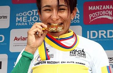 Ana Cristina Sanabria, medalla de bronce en CRI élite