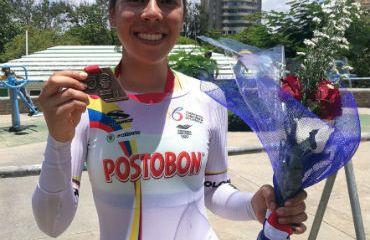 Jessica Parra, medalla de bronce en Panamericano de ruta