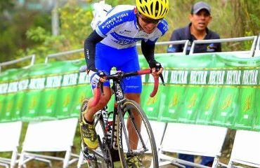 Álvaro Gómez ganador de segunda etapa de Vuelta a Cundinamarca