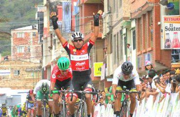 Miguel Ángel Rubiano ganador de segunda etapa