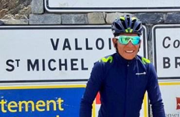 Nairo Quintana hace reconocimiento de etapas claves del Tour de Francia