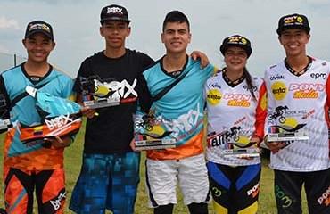 Colombia tuvo seis de sus bicicrosistas en el podio de la 2da jornada de los Campeonatos Mundiales de Rock Hill, Estados Unidos
