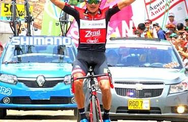 Alex Cano se llevó una impresionante victoria en la quinta jornada de la Vuelta