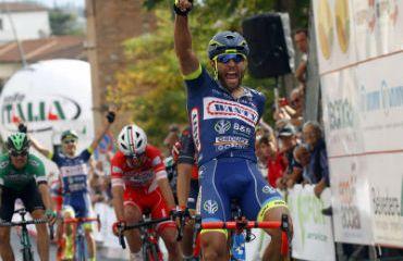 Andrea Pasqualon ganador este jueves de la Coppa Sabatini en Italia