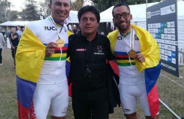Marlon Pérez, 'Chepe' Castro y Nelson Serna ganadores en el Mundial de Paracycling de Sudáfrica