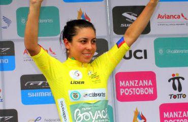 Lorena Colmenares espera defender su camiseta amarilla con éxito