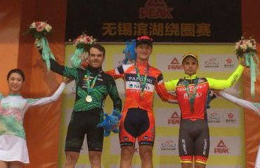 Nicolás Marini vencedor de primera etapa de Tour de Taihu Lake