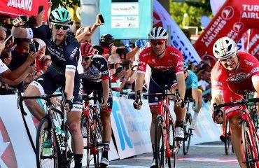 Sam Bennett, el vencedor de primera etapa de Tour de Turquía