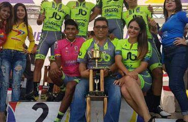 JB Ropa Deportiva, campeón por equipos de Vuelta a Venezuela