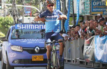 Robinson Chalapud fue el vencedor de segunda etapa y es nuevo líder