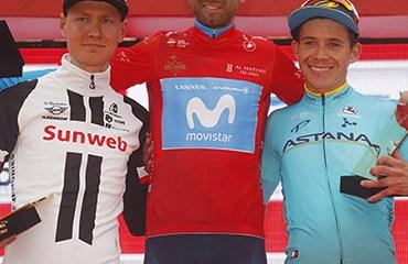 """Supermán"" López terminó tercero en el podio final del Tour de Abu Dhabi"