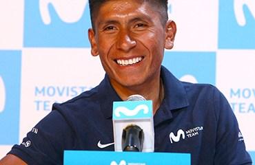Quintana abrió su temporada 2018 con una Rueda de Prensa en Bogotá