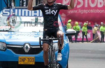 Sergio Henao defenderá este domingo el título de Campeón Nacional de ruta