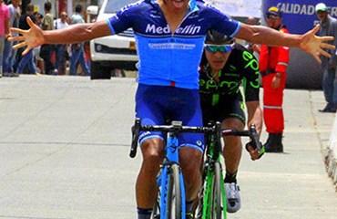 Caicedo se impuso en la jornada de cierre de la edición 2018 del giro vallecaucano