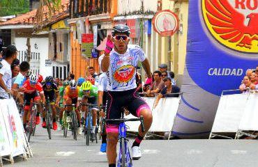 Sebastián Molano vencedor de cuarta etapa de Vuelta al Valle