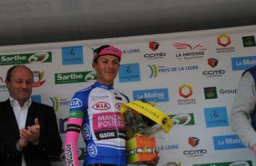 Wilmar Paredes se quedó con el título de los jóvenes del Circuit Sarthe