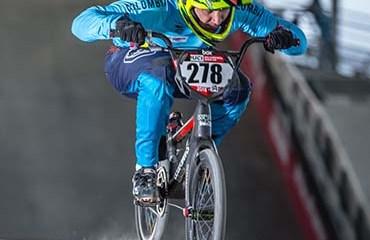 Carlos Ramírez se llevó la medalla de bronce en BMX de los Juegos Suramericanos